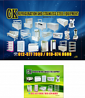 ck refrigeration and stainless steel equpment 131114